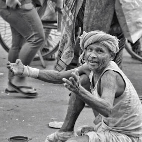 Mercy by Tarun Jha - People Street & Candids ( indian street photography, new delhi, indian market, indian street, india, indian people, tarun jha photography, street photography )