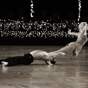 The Dance 120 by Mark Luftig - Black & White Portraits & People