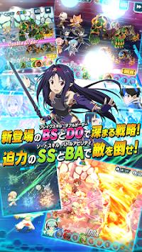 Sword Art Online code register apk screenshot