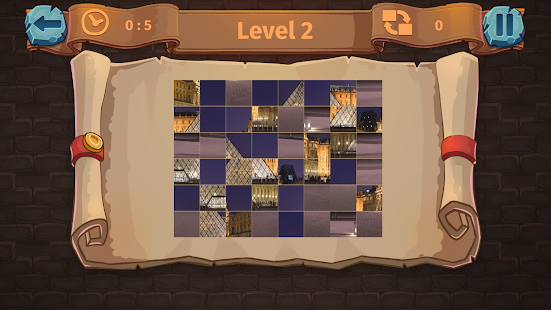 Bastille Day Puzzle - screenshot