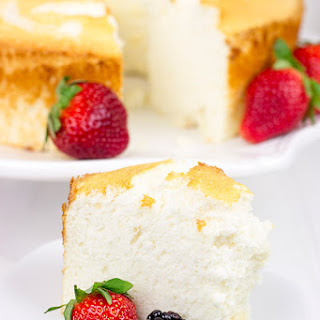 Hazelnut Angel Food Cake