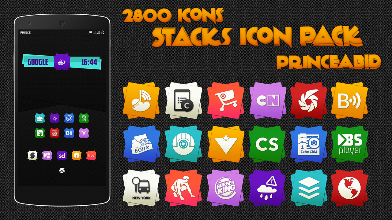 Stacks Icon Pack Screenshot 4