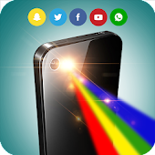 Color Flashlight Alerts : Call