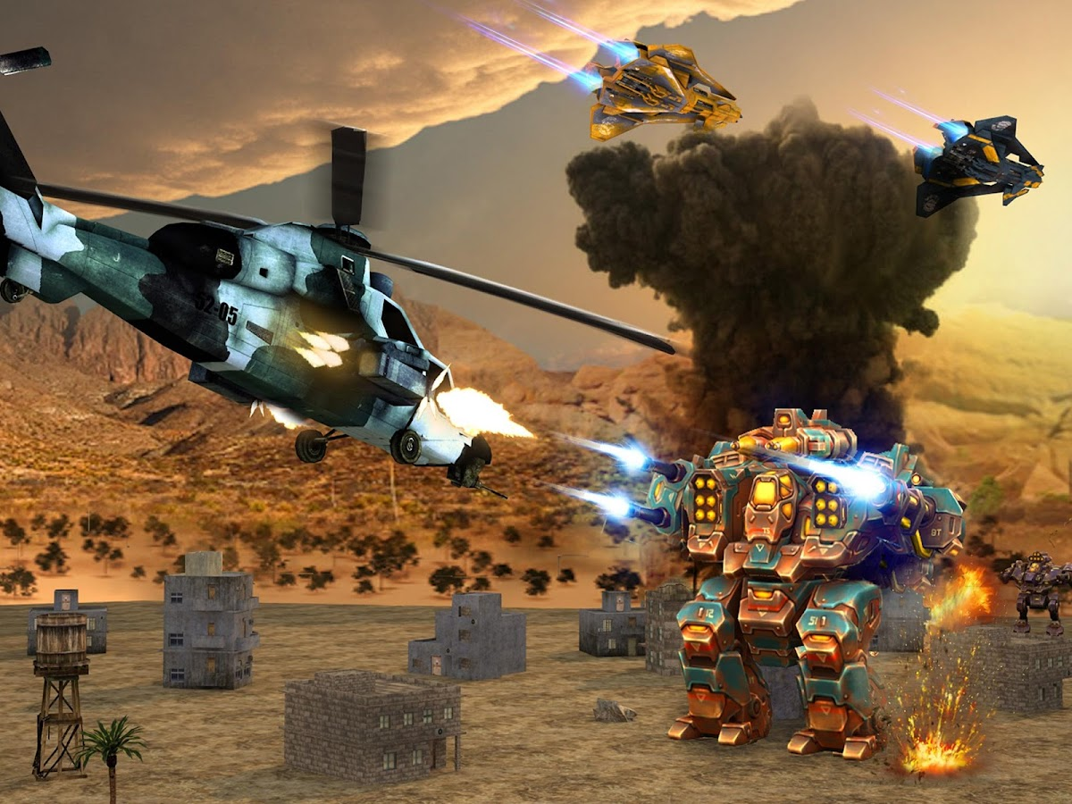 Copter vs Aliens Screenshot 6
