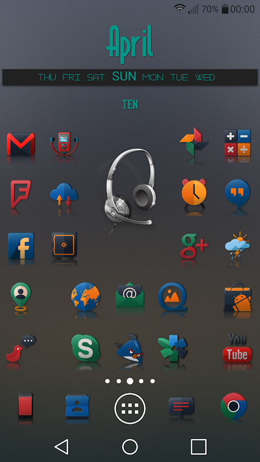 Reflector - Icon Pack Screenshot 1