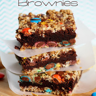 Oatmeal Brownies Brownie Mix Recipes