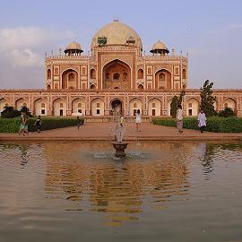Humayun Tomb, New Delhi by Pinaki Pal - Buildings & Architecture Public & Historical ( historical, architecture, nikon, landscape, photography )