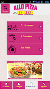 Allo Pizza Express Mitry - screenshot