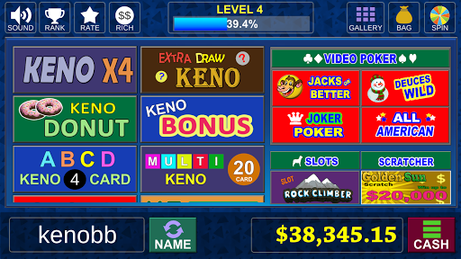 Keno Bonus - Las Vegas Lottery