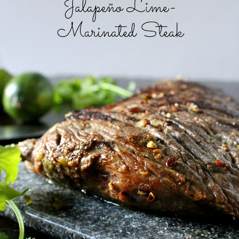 Jalapeño Lime-Marinated Steak