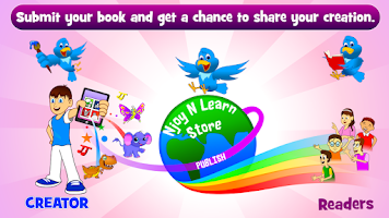 Screenshot of Create Children Book