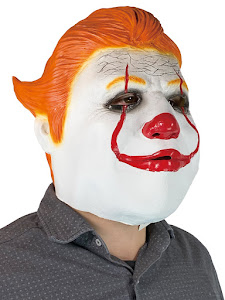 "Маска карнавальня Клоун, серия ""Хеллоуин"""