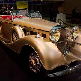 On Display by Dave Skorupski - Transportation Automobiles ( car, automobile, wheels, rolls royce, auto, antique, classic,  )