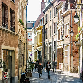 Bruges by Andrew Moore - City,  Street & Park  Street Scenes ( lille )