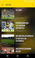 Screenshot of NAC BREDA LIVE