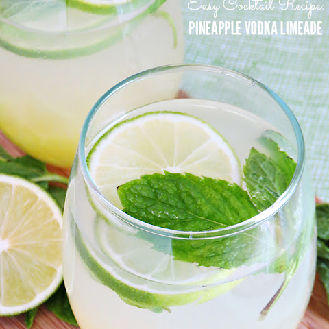 Pineapple Vodka Limeade