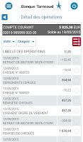 Screenshot of Banque Tarneaud