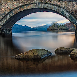 Still waters  by Ray Tickle - Landscapes Mountains & Hills (  )
