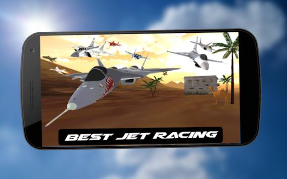 Air Supremacy Jet Fighter Galaxy Desert Race Game apk screenshot