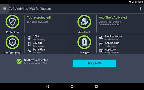 App Tablet AntiVirus Security PRO apk for kindle fire