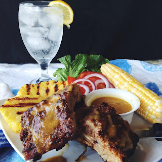 Smithfield Baby Back Ribs with Brown Sugar Rub and Pineapple Sauce
