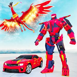 Phoenix Transform Robot War: Robot Grand Hero For PC (Windows & MAC)