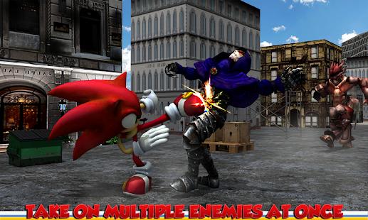 Sonic Superhero Fighter