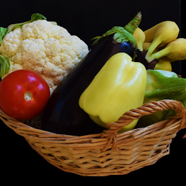 vegetables in a basket by LADOCKi Elvira - Food & Drink Fruits & Vegetables
