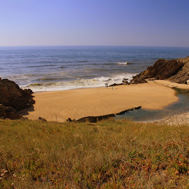 Summer by Gil Reis - Landscapes Beaches ( sand, beaches, nature, weather, sea, places, portugal, atlantic )