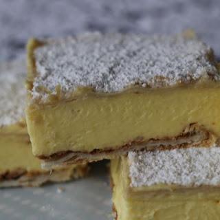 Vanilla Cream Slice Recipes