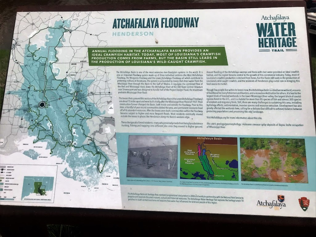 Annual flooding in the Acthafalaya Basin provides an ideal crawfish habitat. Today, most of Louisiana's crawfish production comes from farms, but the Basin still leads in the production of ...