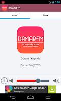 Screenshot of DamarFm Android Radyo