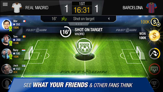 FastWin Soccer – Live The Game - screenshot