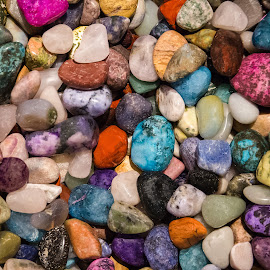 Polished Rocks by Dave Lipchen - Nature Up Close Rock & Stone ( polished rocks )