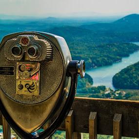 Chimney Rock State Park by Sabastian L - Artistic Objects Still Life