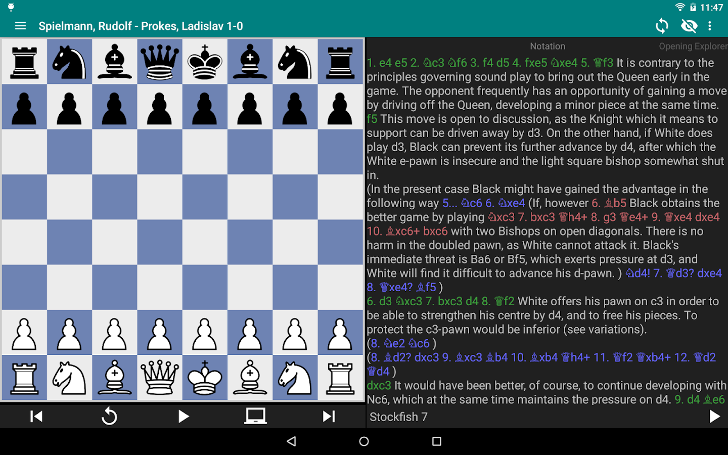 Perfect Chess Trainer Screenshot 8