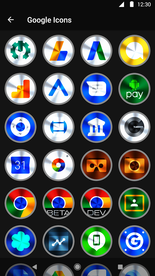 Vivid 2 Icon Pack Screenshot 4