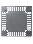 Пластина Baseplate для конструкторов, перекресток