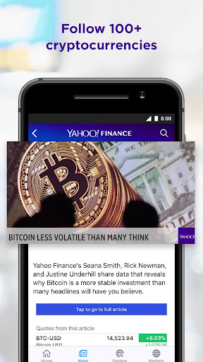 Yahoo Finance screenshot 4