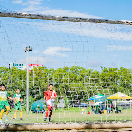 Goal! by Empty Deebee - Sports & Fitness Soccer/Association football ( davao city, football, soccer )