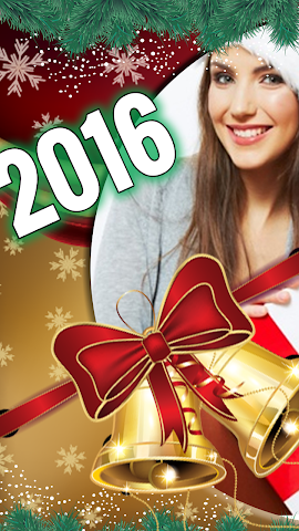 android New Year Photo Stickers 2016 Screenshot 3