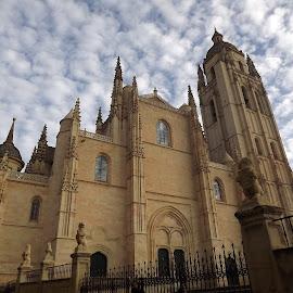 Cathedral of Segovia (Spain) by Dražen Komadina - City,  Street & Park  Street Scenes ( cathedral of segovia (spain) )