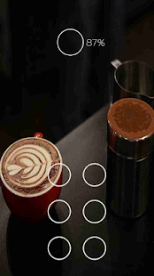 Beautiful black coffee theme - screenshot