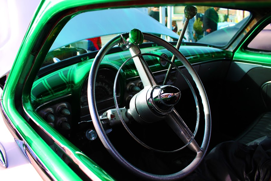 Cruiser by Jay Woolwine Photography - Transportation Automobiles ( lowrider, classic car, old car, green, show car )
