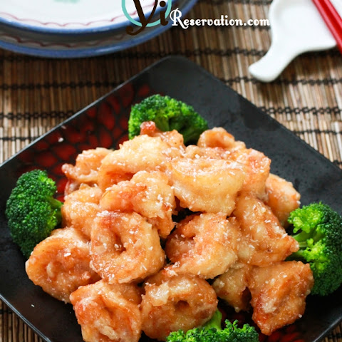 Chinese Buffet Style Coconut Shrimp (椰子蝦)