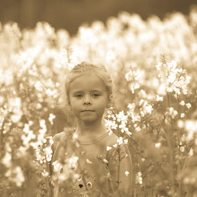 Little Blossom by Alan Wilson - Novices Only Portraits & People