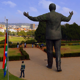 Nelson Mandela 2 South Africa by Melody Pieterse - Buildings & Architecture Statues & Monuments (  )