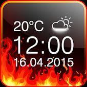 Free Fire Digital Weather Clock APK for Windows 8