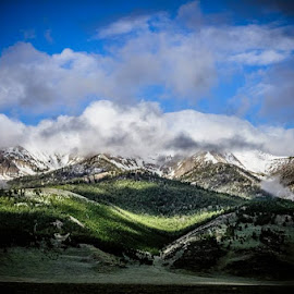 Clouded mountains by Brian Allison - Landscapes Mountains & Hills (  )