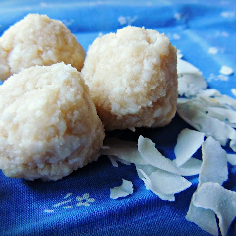 Heavenly No-Bake Organic Coconut Balls